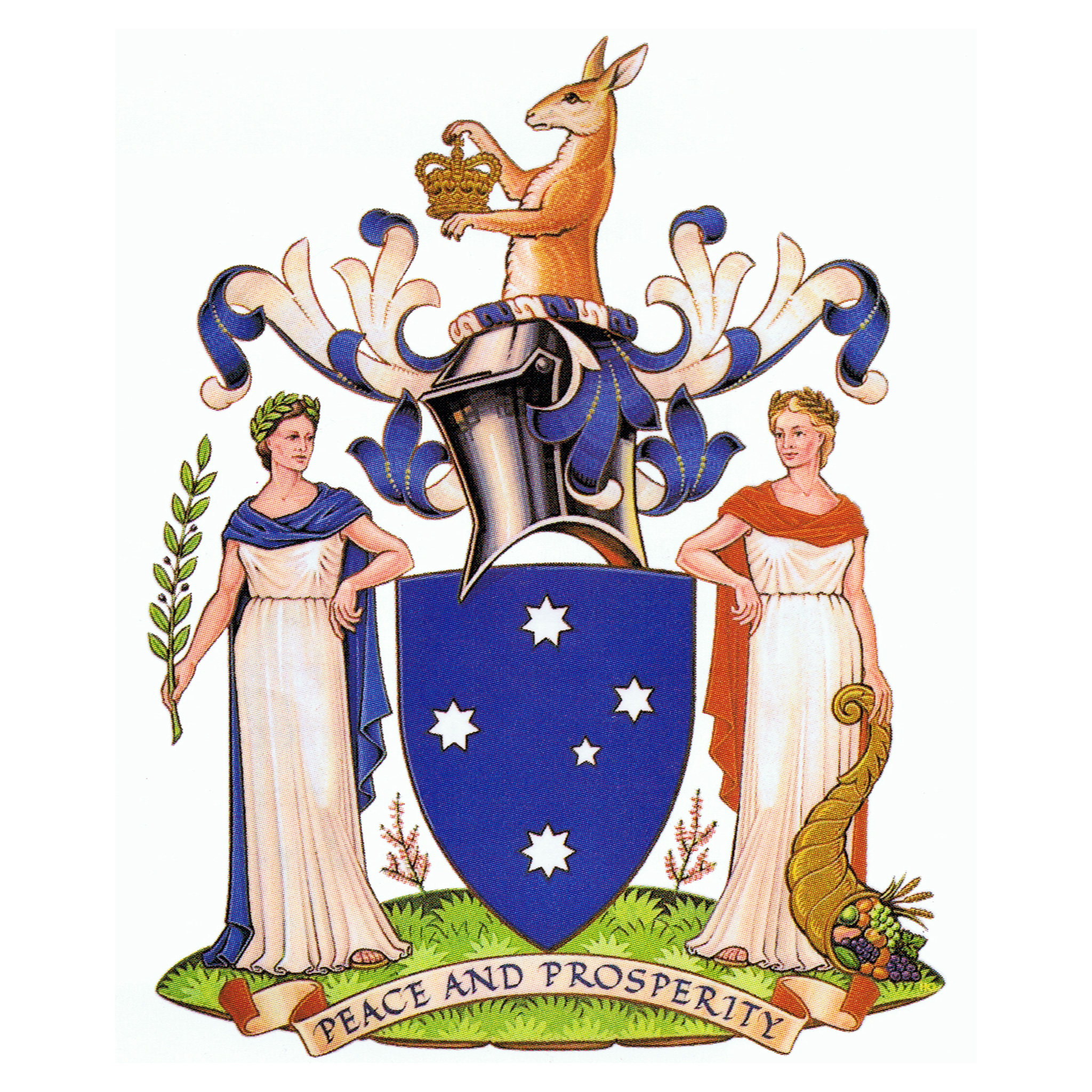 The Coats Of Arms Of Australian States And Territories Scoutcraft